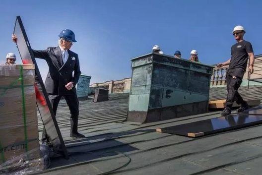 光伏受宠!瑞典国王亲手安装光伏电站!