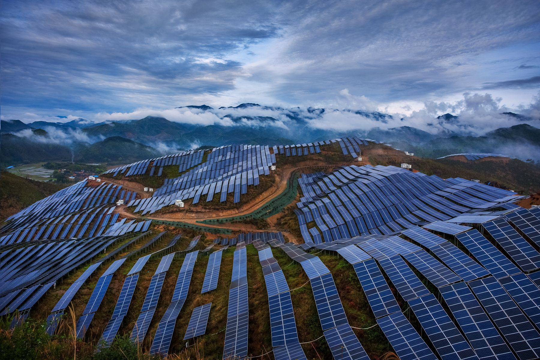 福建省南平市屋顶分布式光伏发电项目(EPC)