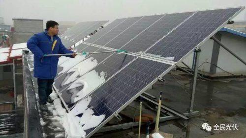 冬季来了,光伏电站发电量为什么会下降