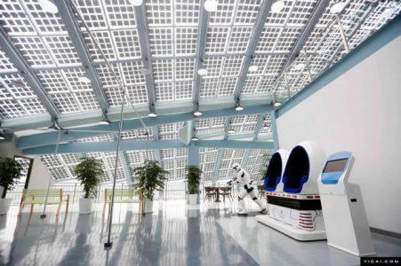 上海建成国内最大光伏充电站,日均满足400辆车充电!