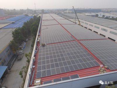 厂房屋顶上的扶贫电站,多方受益!