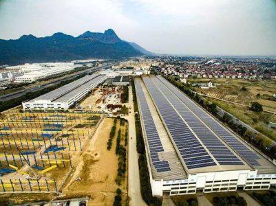 诸暨这个工业园大变样,装了56200块光伏电池板!
