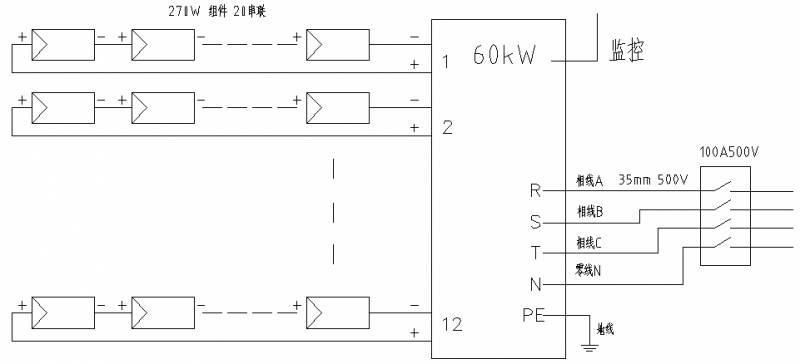 【干货】村级光伏扶贫电站典型设计方案