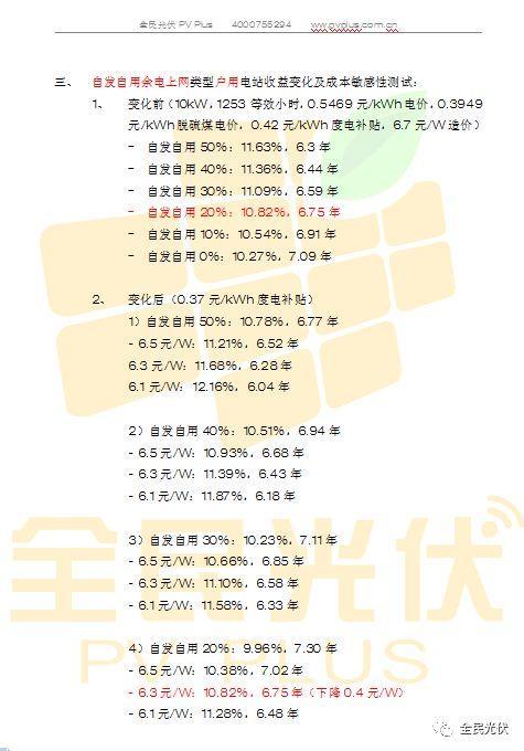 光伏组件将下降0.4元/W,自发自用分布式电站收益率不变,将占2018年装机半壁江山