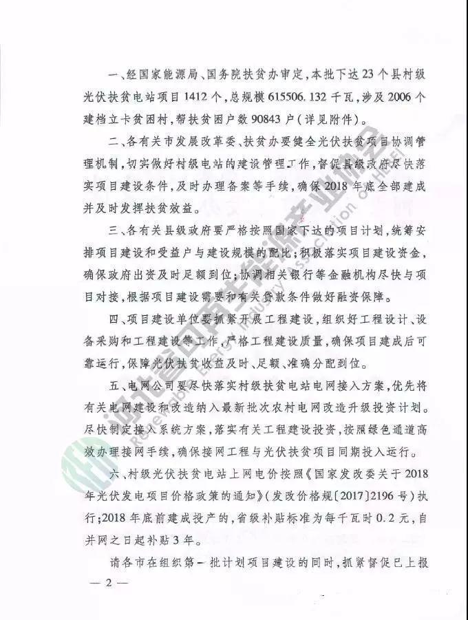 河北又出光伏补贴新政策:0.2元/度,补贴三年!