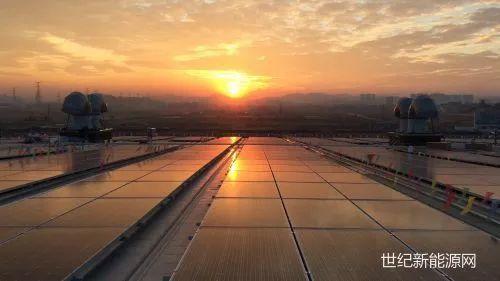 图 | 阿里系光伏屋顶电站并网发电