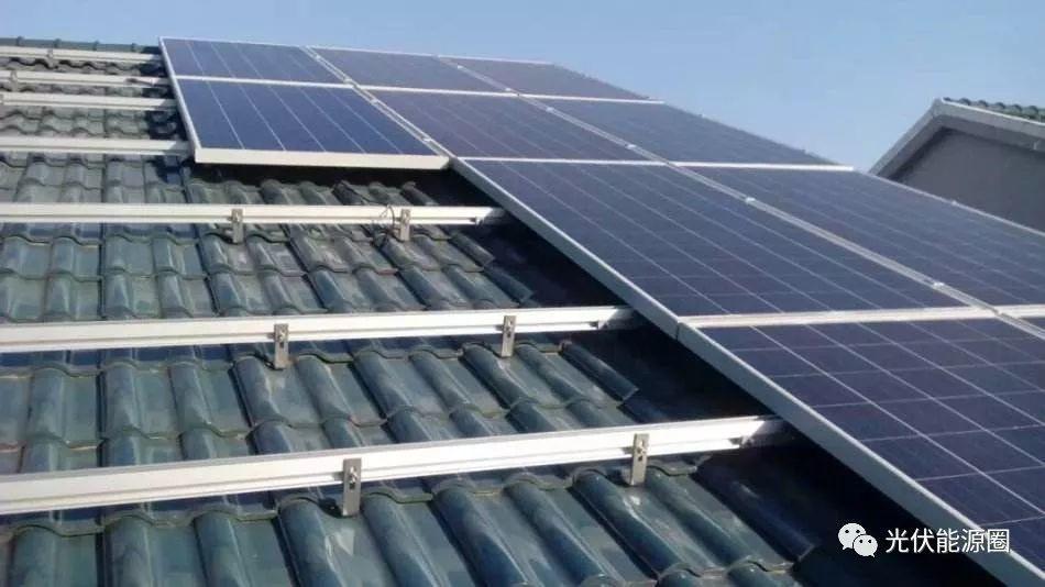 瓦屋顶光伏电站安装指导说明书(多图)