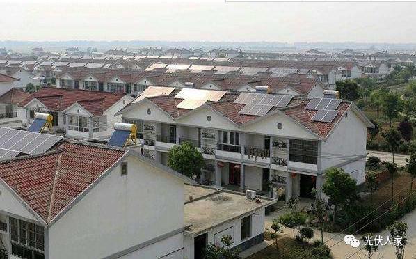 """孝敬父母:儿女为父母建了个""""屋顶银行""""-光伏电站"""