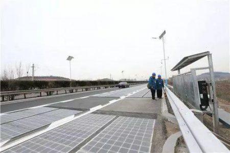济南全球首段光伏高速公路发的电都去哪了?