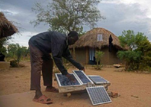 骄傲 光伏改变生活!哪怕是在遥远的非洲!