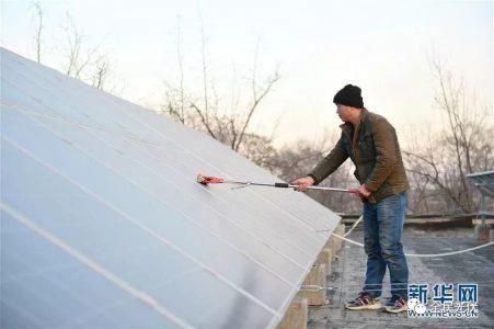 中国五年减少贫困人口三分之二 光伏扶贫功不可没