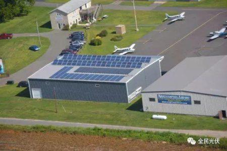 继高速公路光伏之后,机场也要发展太阳能发电?