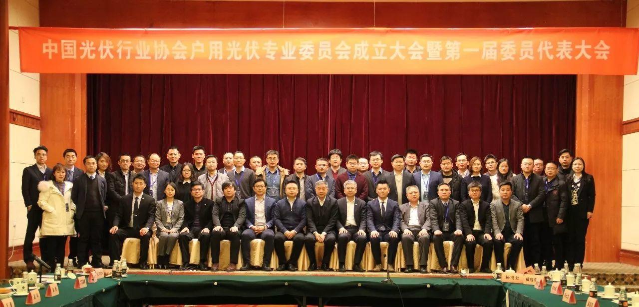 中国光伏行业协会户用光伏专业委员会正式成立
