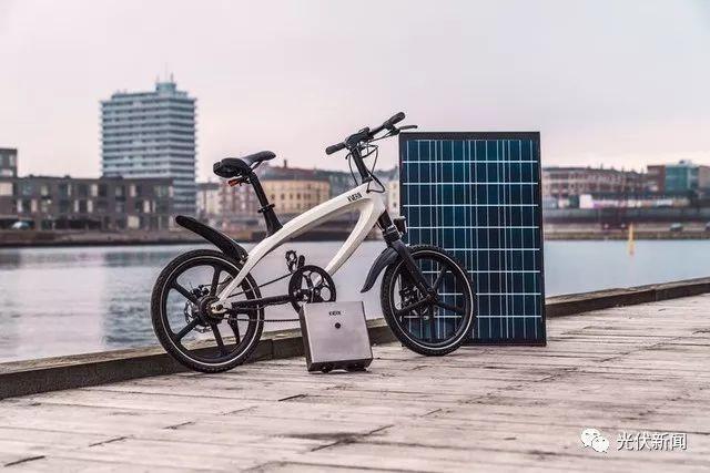 终极环保电动车,配备太阳能电池板充电!