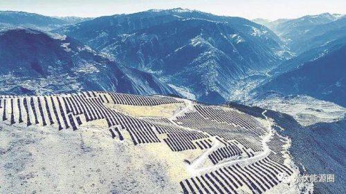 3800米雪山上也能安装光伏电站?!