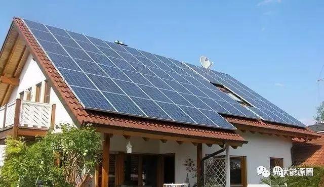 屋顶安装家用光伏电站,有这九大好处!