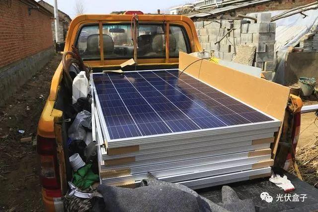 安装这个面积的光伏板大约投资三万元左右,四年内可以收回成本!