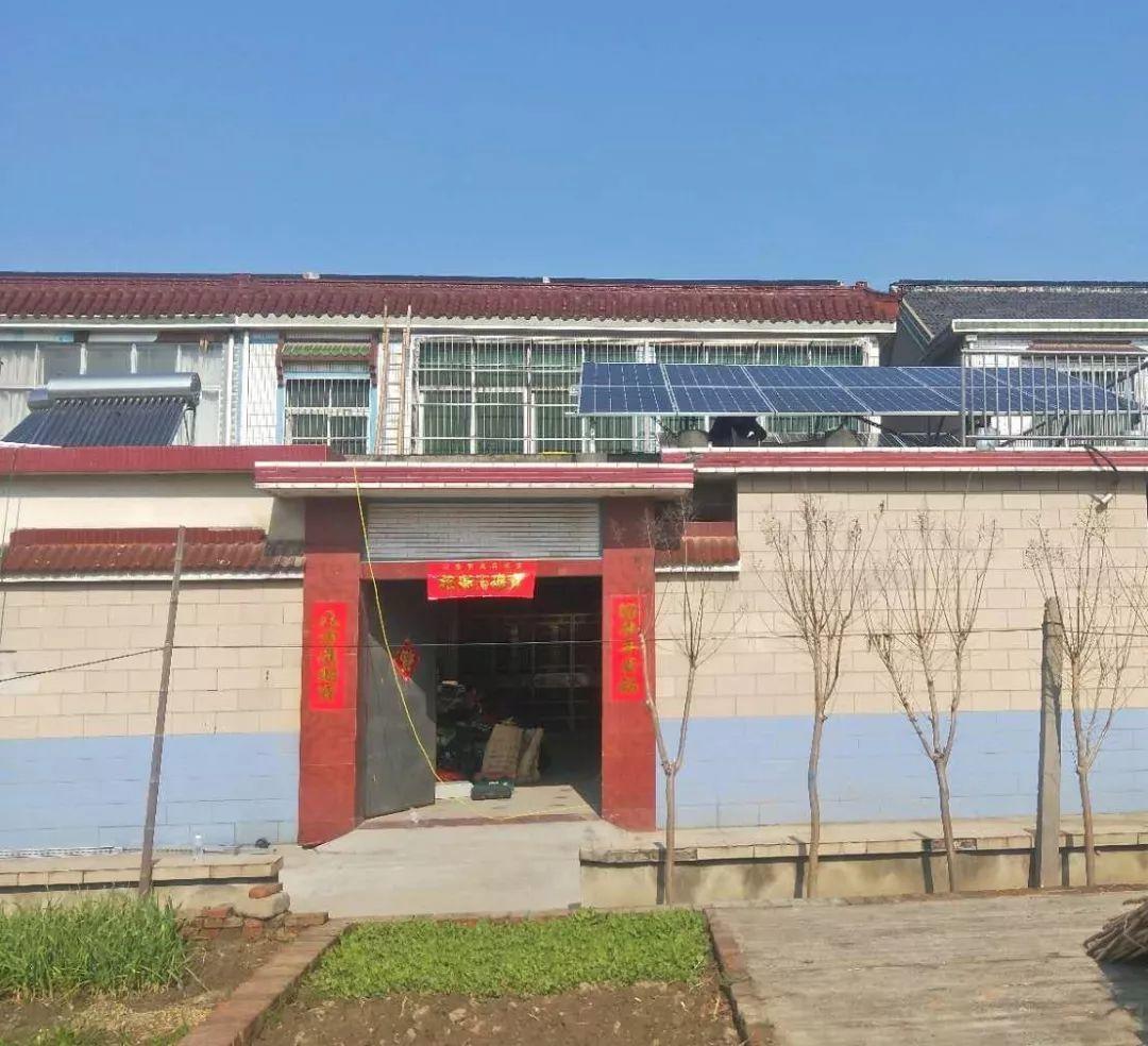 年收入5000元!江苏扬州屋顶光伏电站实例分享
