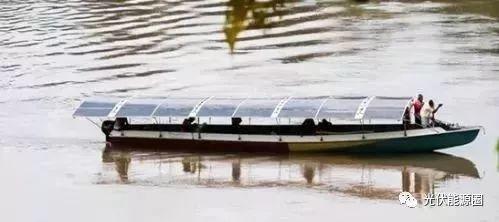 涨姿势!晒太阳就能跑的太阳能船