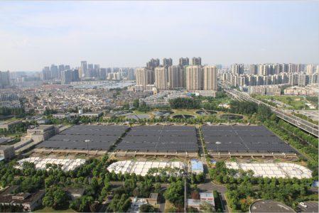 阳光电源助力全国单体规模最大的污水处理厂光伏电站成功并网