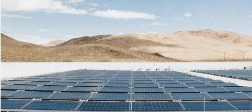 特斯拉公布全球最大屋顶光伏电站照片