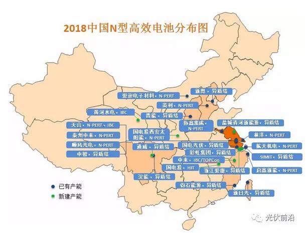 2018年中国N型电池产能将达7.5GW,将为N型硅片带来巨大市场需求