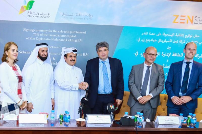 卡塔尔Nebras公司进入荷兰太阳能市场